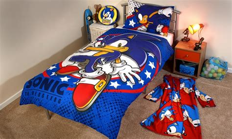 sonic comforter kids duvet set 163 11 95 163 18 95 groupon goods