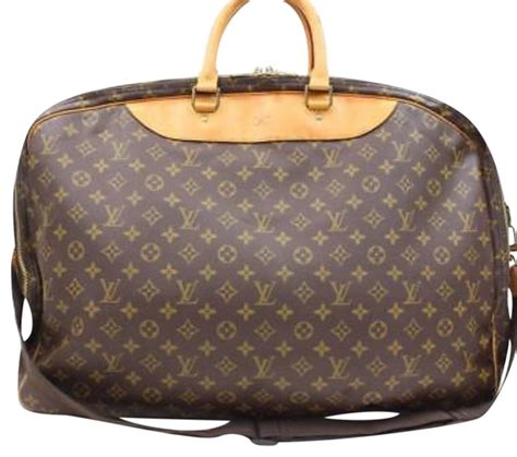 louis vuitton alize  pouch monogram canvas  leather