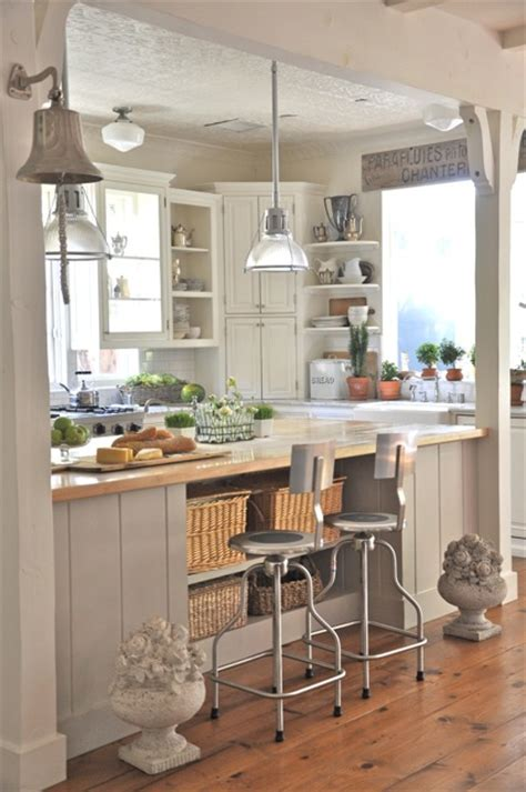 beautiful cottage kitchens beautiful exle of an industrial coastal cottage