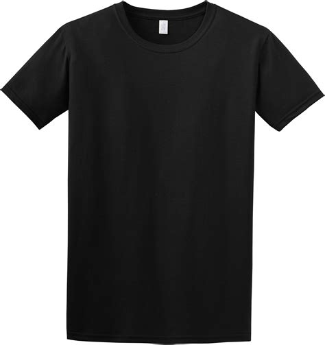 Gildan Men S Softstyle Ring Spun Cotton Short Sleeve T Shirt 64000 Ebay Gildan Black T Shirt Template
