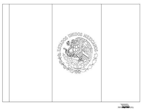imagenes para colorear bandera de mexico bandera de m 233 xico para colorear