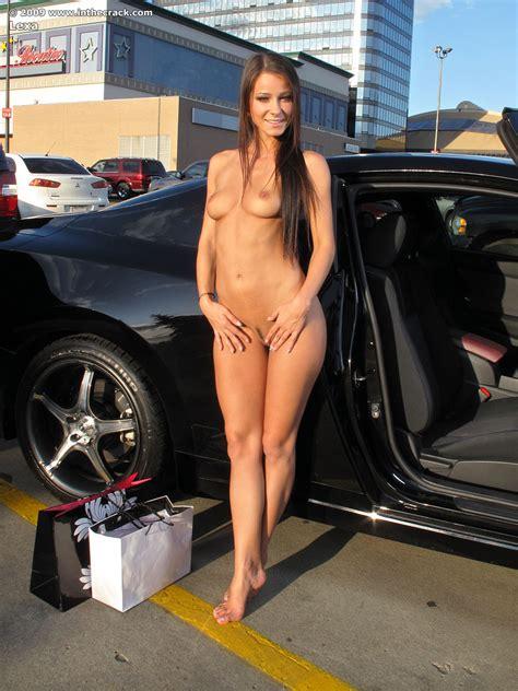Lexa Parking Nude Public Car Inthecrack Redbust