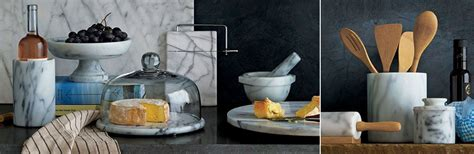 Next Kitchen Accessories by Marble Kitchen Accessories Crate And Barrel