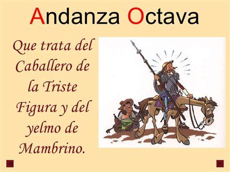 andanzas de don quijote y sancho andanzas de don quijote