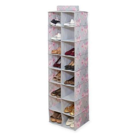 hanging shoe caddy buy hanging shoe storage from bed bath beyond