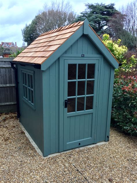 luxury ply lined classic garden sheds  cosy shed