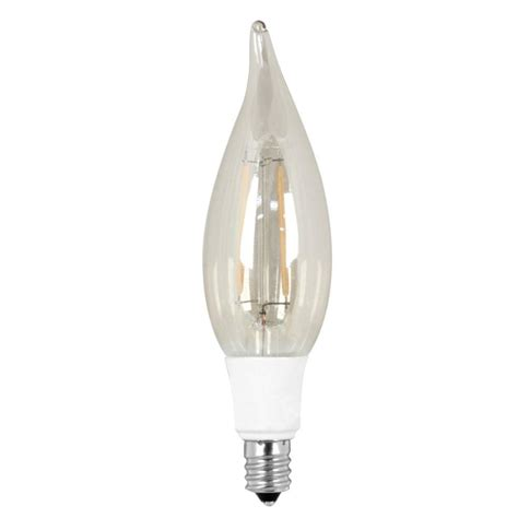 Led Lights Bulbs For Home Feit Electric Vintage Style 40w Equivalent Soft White 2200k Ca10 Candelabra Tip Dimmable