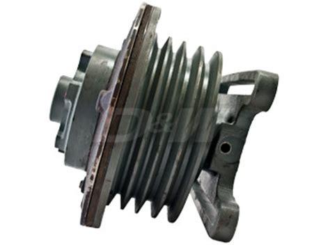 cummins n14 fan clutch solenoid d w engine components 791021 remanufactured horton fan