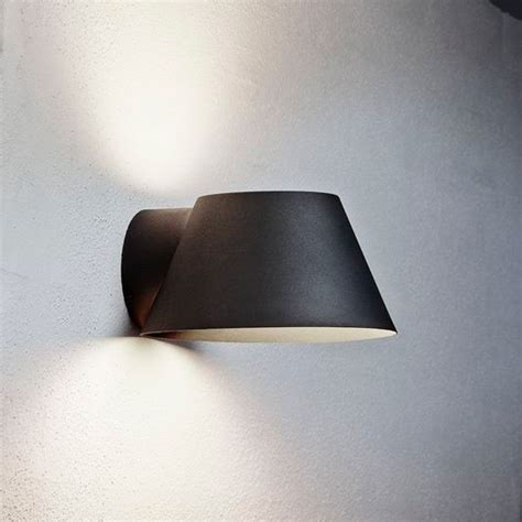 outdoor wall lights black nordlux view e27 outdoor wall light black