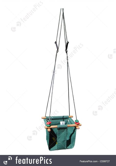when can baby use swing house living baby s canvas swing stock picture i2308727