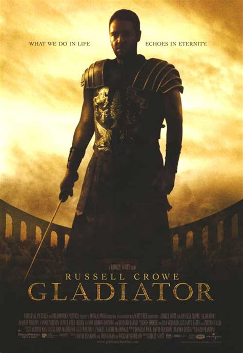 gladiator film book gladiator movie posters at movie poster warehouse