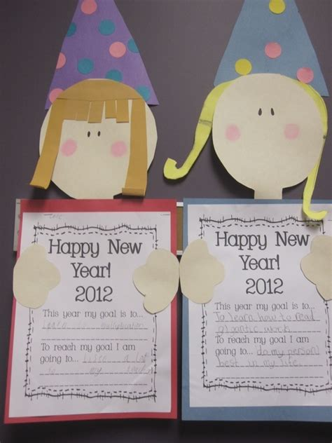 happy new year crafts 17 best images about oud en nieuw on classroom
