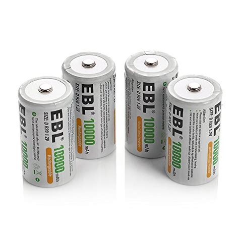 best rechargeable batteries top 5 best d size rechargeable battery for sale 2017