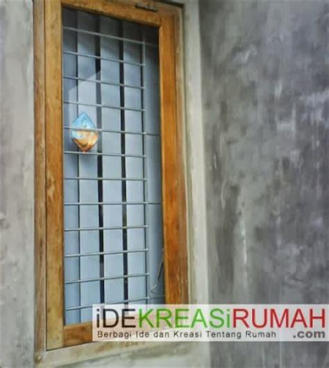 Mempercantik Jendela Dengan Besi Teralis Horisontal