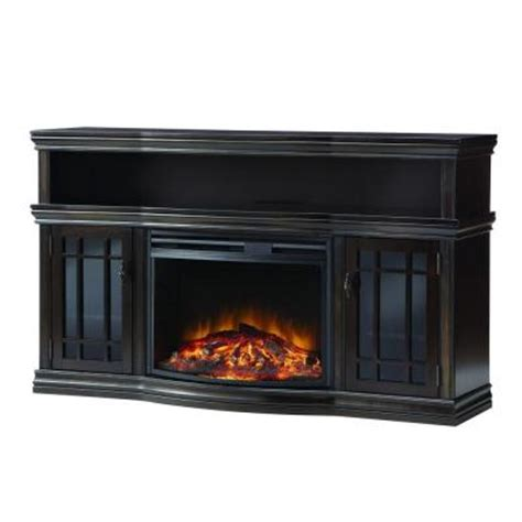 Home Depot Electric Fireplace Media Console by Home Decorators Collection Silverthorne 57 In Media