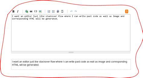 html tutorial stack overflow html editor like stackoverflow stack overflow