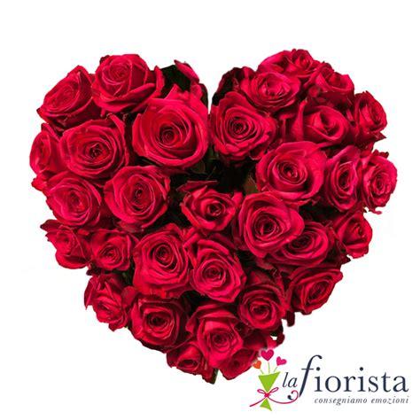 foto fiori rosse vendita cuore di rosse consegna fiori a domicilio gratis