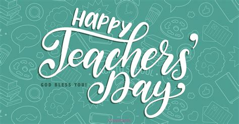 Happy Teachers Day Card Template by Happy Teachers Day Ecard Free Teachers Day Cards