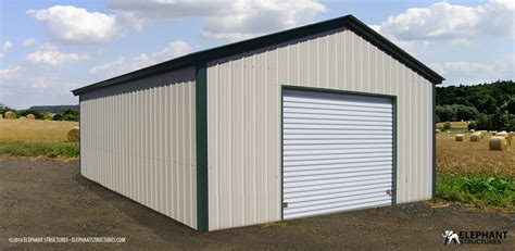 Steel Structure Shed by Metal Buildings Garages Carports Barns Elephant