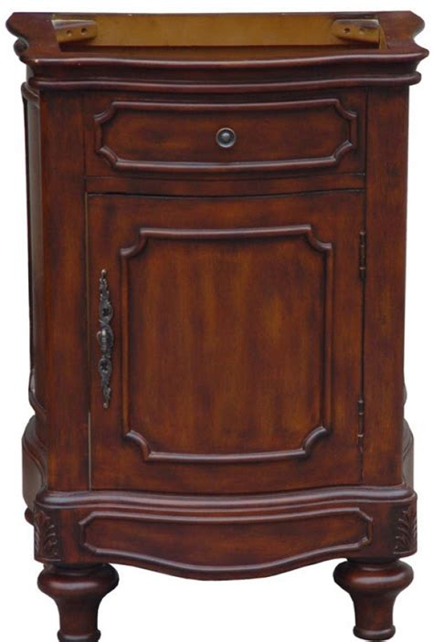 24 Inch Single Sink Antique Style Bathroom Vanity With Antique Style Bathroom Vanity