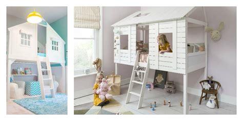 cabane enfant chambre le lit cabane fille id 233 es en images