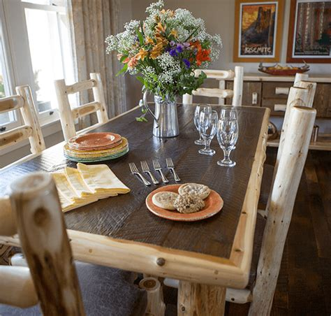 log dining room table log dining room furniture