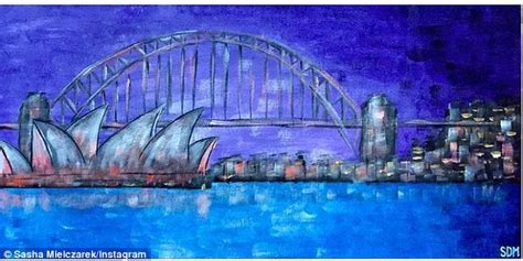 acrylic paint sydney mielczarek shares his painting skills as