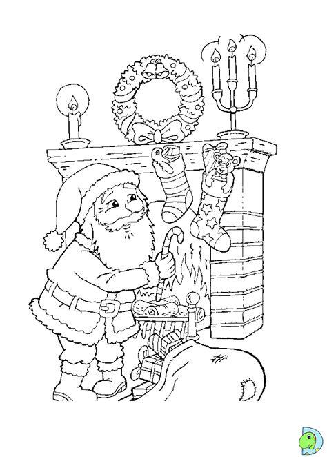 Dinokids - Desenhos para colorir: Desenhos do Pai Natal