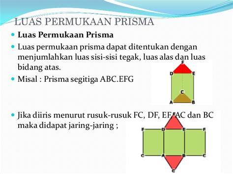 Ac Tegak matematika prisma