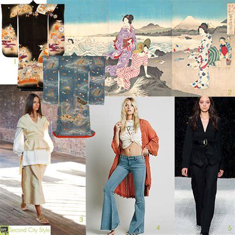 Haute Historian Drama Second City Style Fashion by Haute Historian Kimono Fashion Where East Meets West