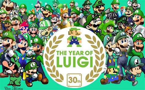 year of the the year of luigi tribute by newvillainworld on deviantart