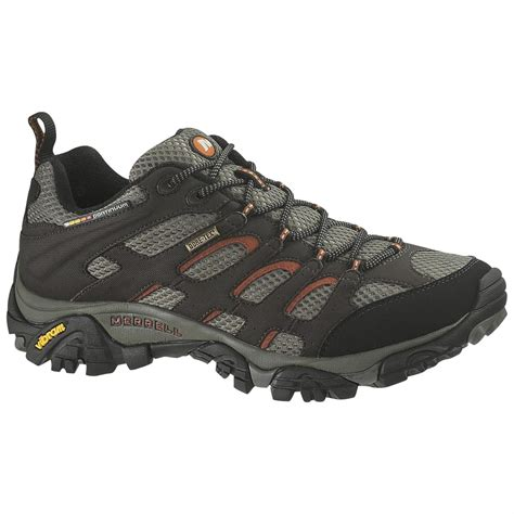 merrell mens boots s merrell 174 moab tex 174 xcr 174 low cut trail