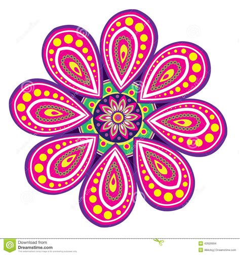 flower pattern mandala colourful flower designs drawings www imgkid com the