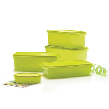 Fresh Lime Colelection tupperware smart kitchen fridge collection