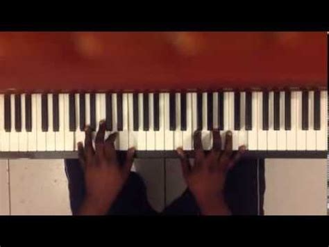 tutorial piano because of you because of who you are olivier piano tutorial youtube