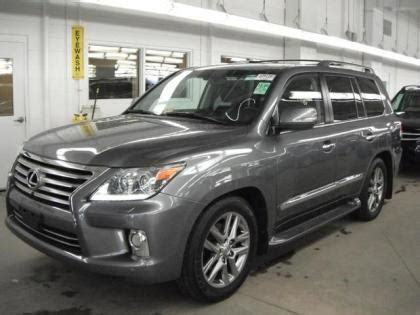 d lx base ungu export used 2013 lexus lx570 base gray on black