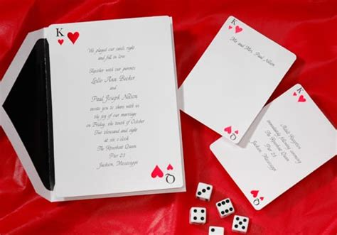 las vegas themed wedding invitations eventseasy