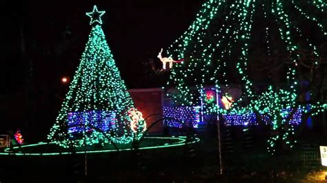 best christmas lights in springfield bagwell family youtube