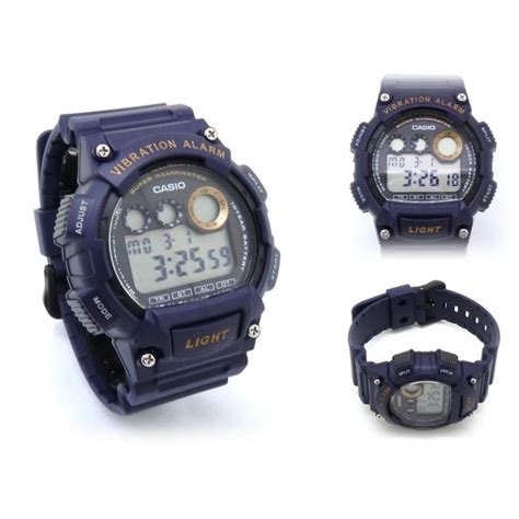 Casio Original W 735h 2a ready stock casio standard w 735h 2av digital