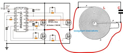 induction heating circuit diagram designing an induction heater circuit tutorial