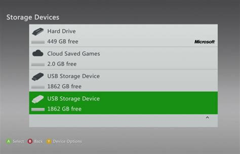 xbox 360 console update xbox 360 update enables 2gb of cloud storage