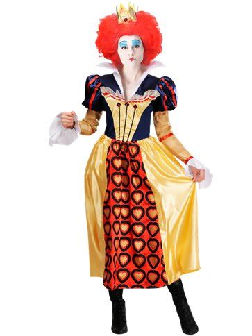 disney red queen adult costume party delights