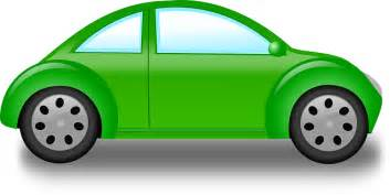 new green car new green outline drawing car bug free