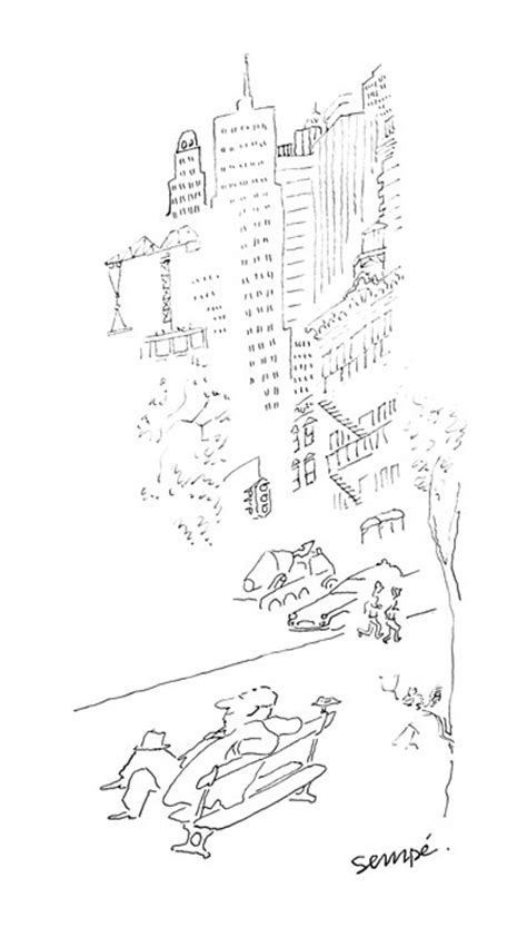 Jean-Jacques Sempé – Sempé à New York | Galerie Martine