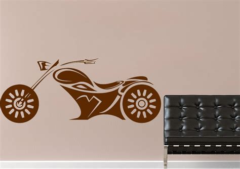 wheels bike transport wall stickers adhesive wall sticker