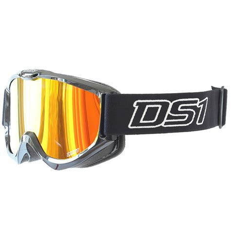 tinted motocross goggles ds1 hype x tinted lens mx enduro atv anti fog quad