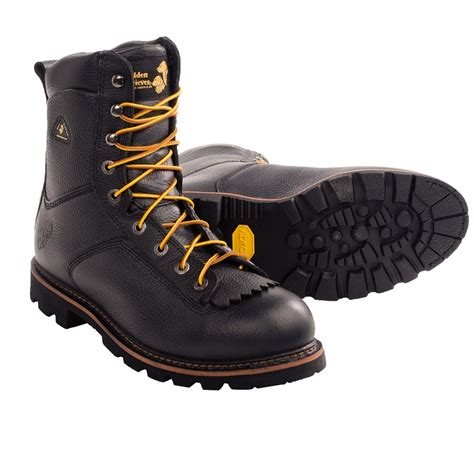 golden retriever firefighter spec boots waterproof