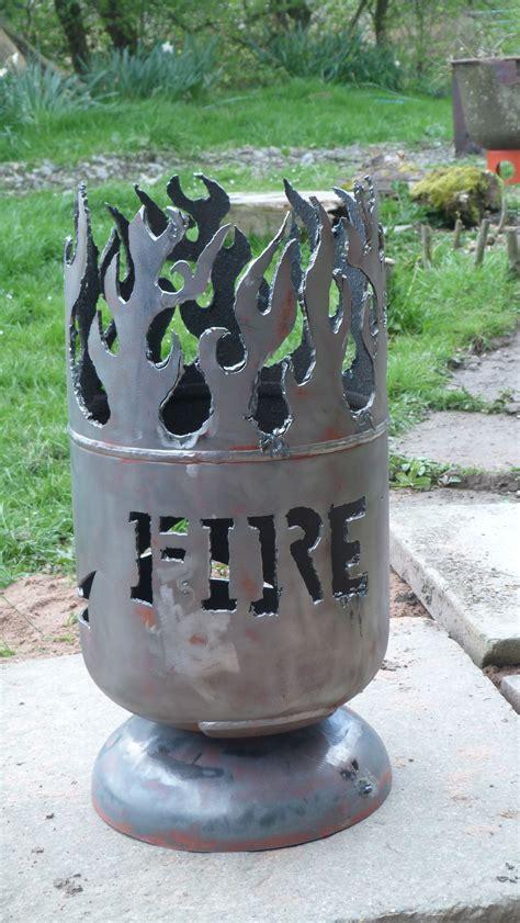 green dreams    story metal fire pit