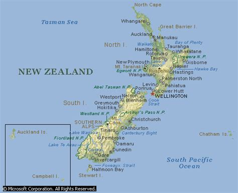 map new zealand new zealand maps