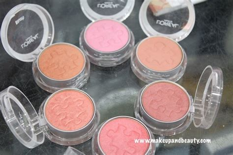 blush pink l shade l oreal true match blush photos swatches